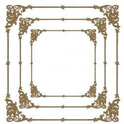 Flourish Corner Frames