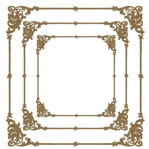Flourish Corner Frames - Frames
