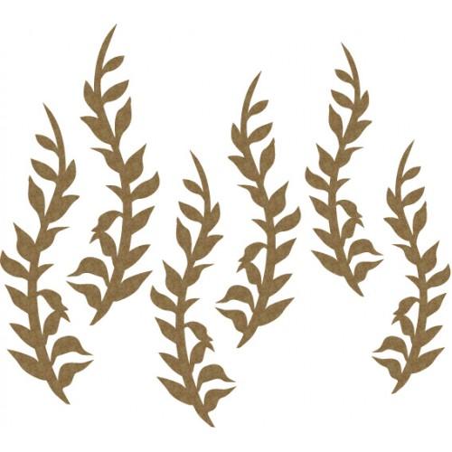 Mini Leaves Set 1 - Flourishes