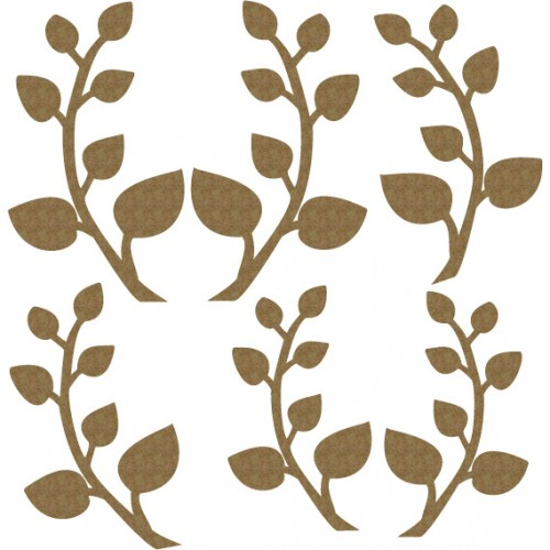 Mini Leaves Set 2 - Flourishes