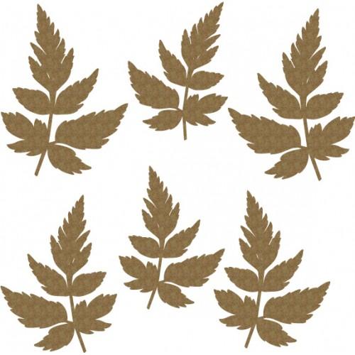 Mini Leaves Set 3 - Flourishes