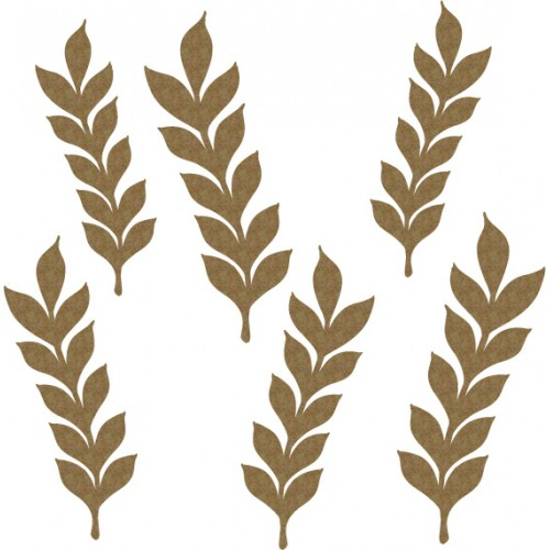 mini Leaves Set 4 - Flourishes