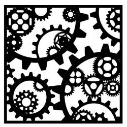 Gear Stencil 1