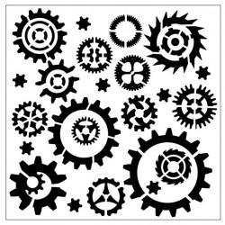 Gear Stencil 2
