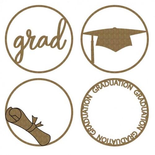 Graduation ATC Coin - Artist Trading Card / Coins