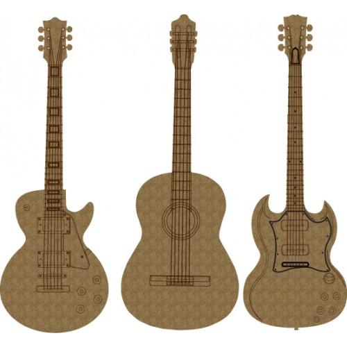 Guitar Set - Music