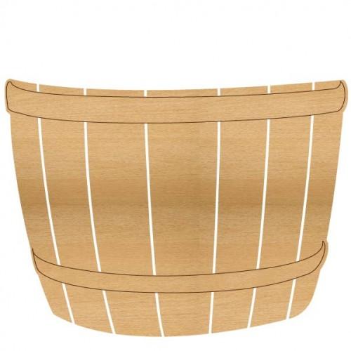 Half Barrel - Home Decor
