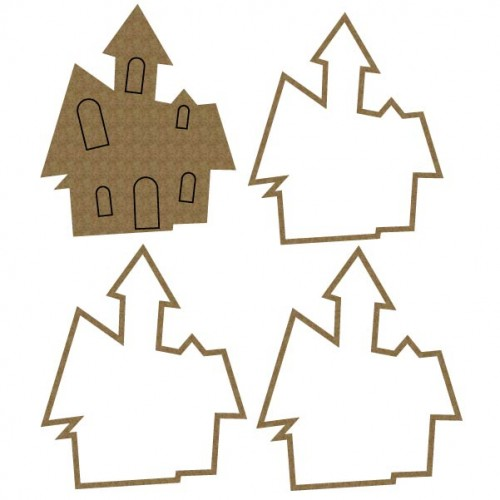 Haunted  House Shaker - Shaker Sets