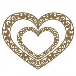 Ornate Heart Frames