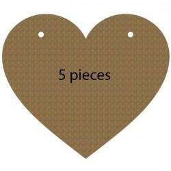 Heart Pennant Banner
