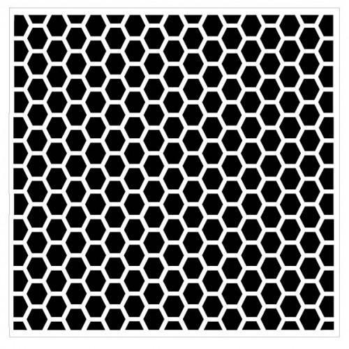 Hexagon Stencil - Stencils