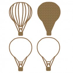 Hot Air Balloon Shaker