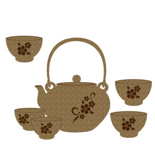 Japanese Tea Set - Games and Toys