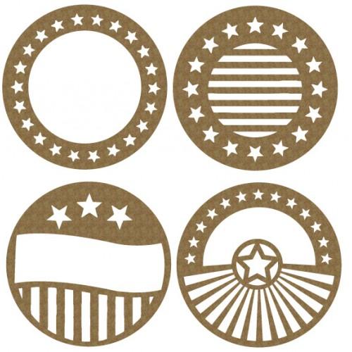 Star ATC Coin - Artist Trading Card / Coins