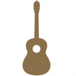 Large acoustic guitar