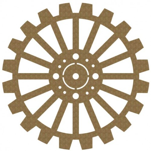 Large Gear - Steampunk