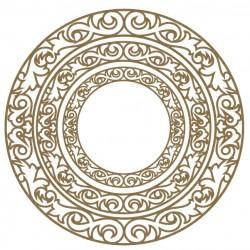 Ornate Circle Frames