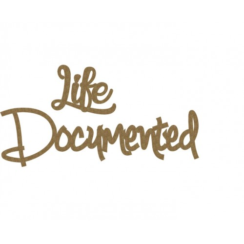Life Documented - Words