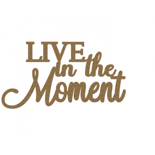 LIVE in the Moment - Words