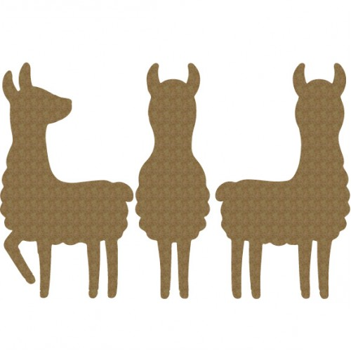 Llama Set - Animals