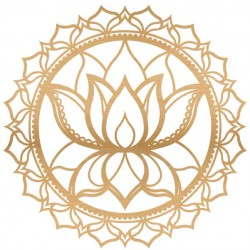 Lotus Mandala Wood