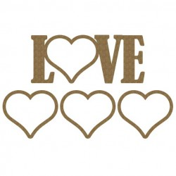 Love Word Shaker