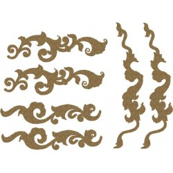 Mini Ornate Flourishes