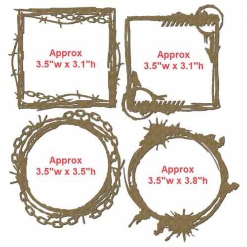Grunge Mini Frames - Frames