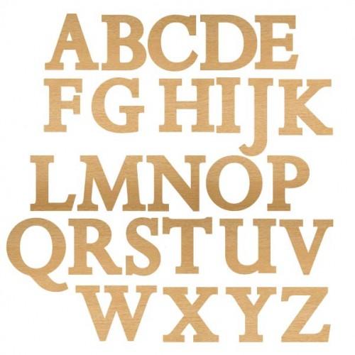 Solid Monograms - Home Decor