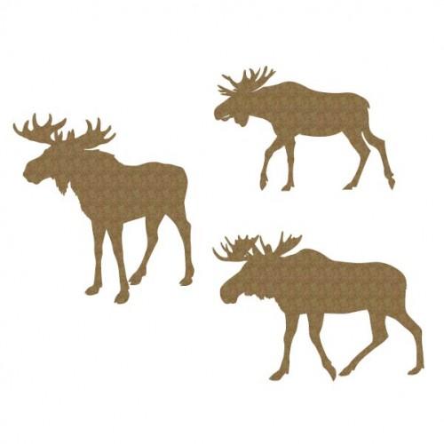 Moose Set - Animals