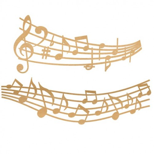 Music Notes - Home Decor