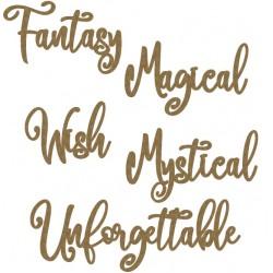 Fantasy Word Set