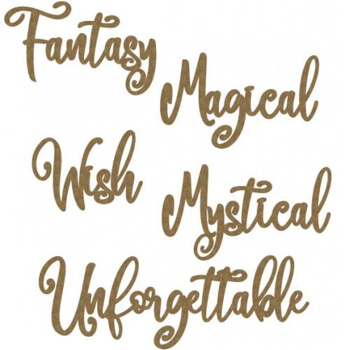 Fantasy Word Set - Words