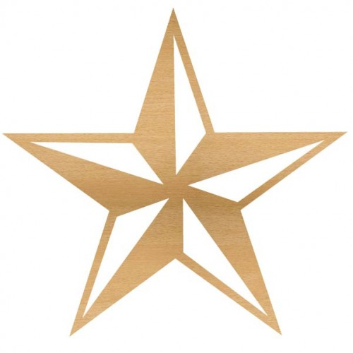 Nautical Star Large - Home Decor