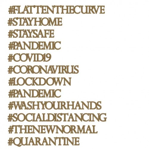 Pandemic Hashtags - Words