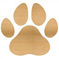 Paw Print Pieces