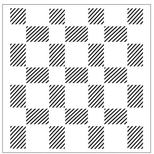 Plaid Stencil - Stencils