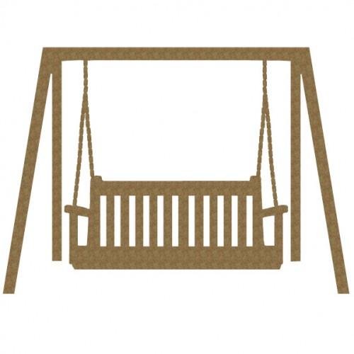 Porch Swing - Garden