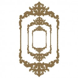 Large Ornate Portrait Frames