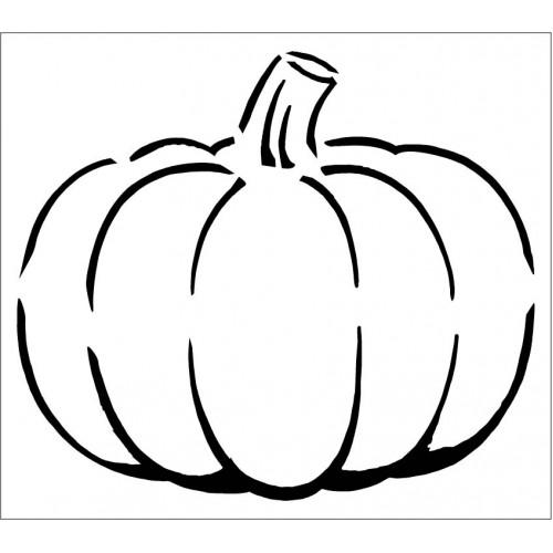 Pumpkin Stencil - Stencils