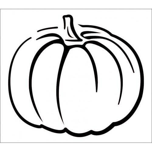 Pumpkin Stencil 2 - Stencils
