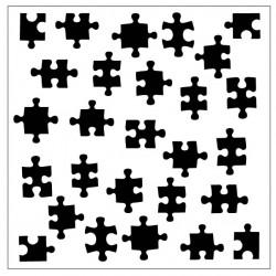 Puzzle Piece Stencil