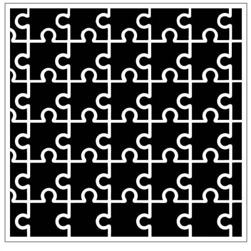 Puzzled Stencil - Stencils