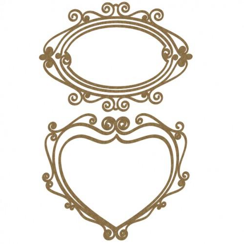 Ribbon Frames 2 - Frames