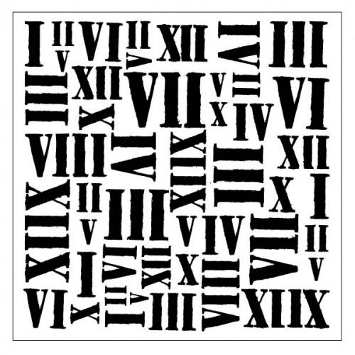 Roman Numeral Stencil - Stencils
