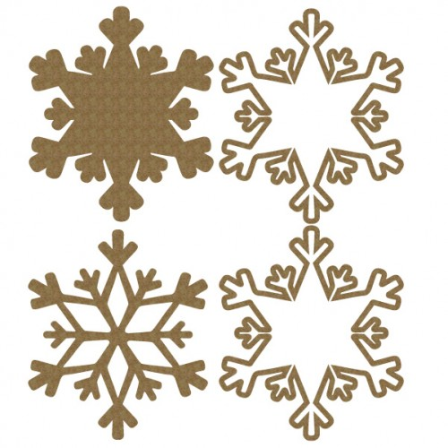 Snowflake Shaker - Shaker Sets