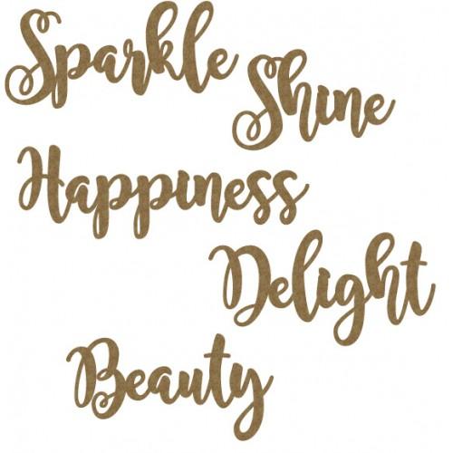 Sparkle Word Set - Words
