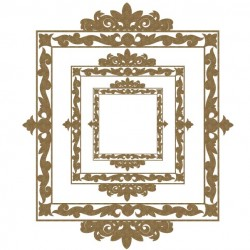Square Ornamental Frames
