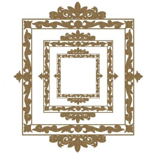 Square Ornamental Frames - Frames