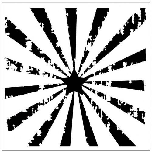 Starburst Stencil - Stencils